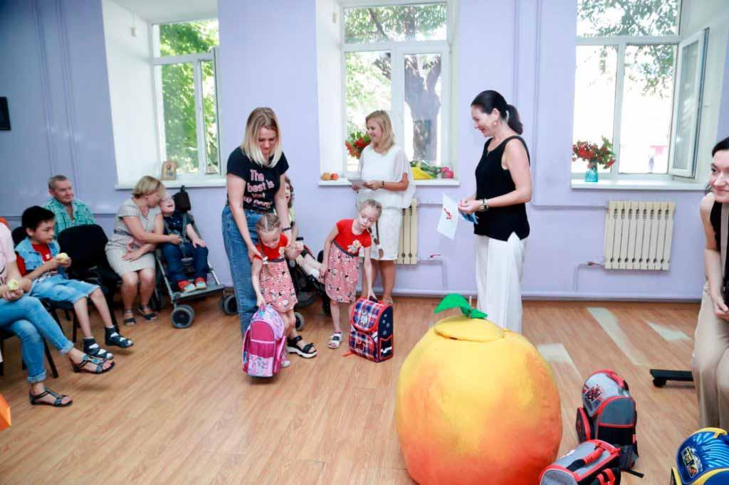 Благотворительный проект Душевные встречи Социальный отдел Астрахань