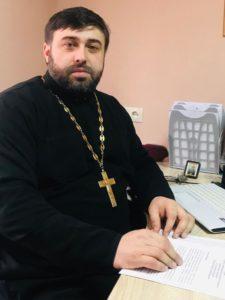 Иерей Валентин Вовчек руководитель Социального отдела Астрахань