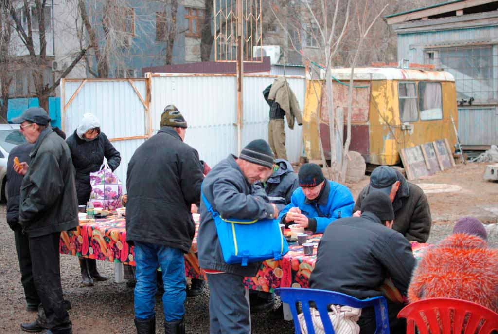 Помощь бездомным Социальный отдел Астрахань