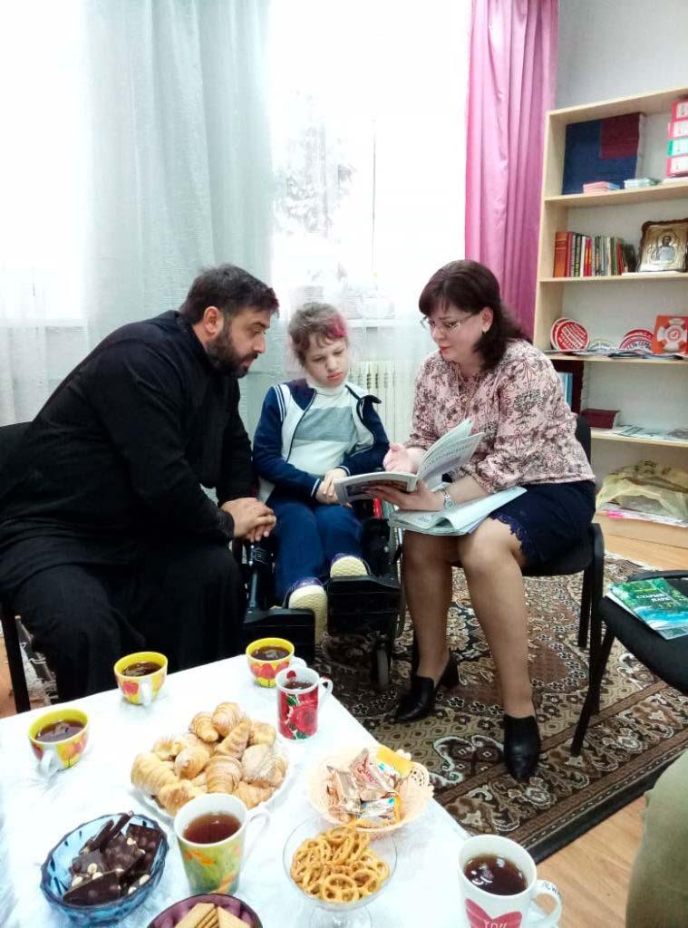Клуб Душевные Встречи для детей инвалидов