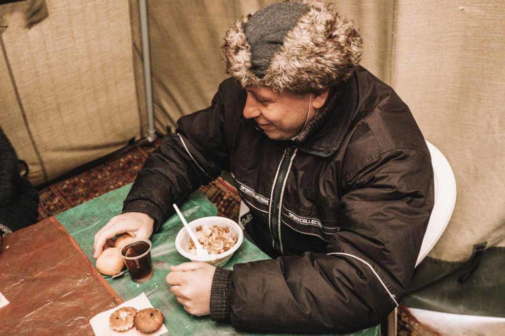 Пункт помощи и обогрева бездомных граждан Социальный отдел