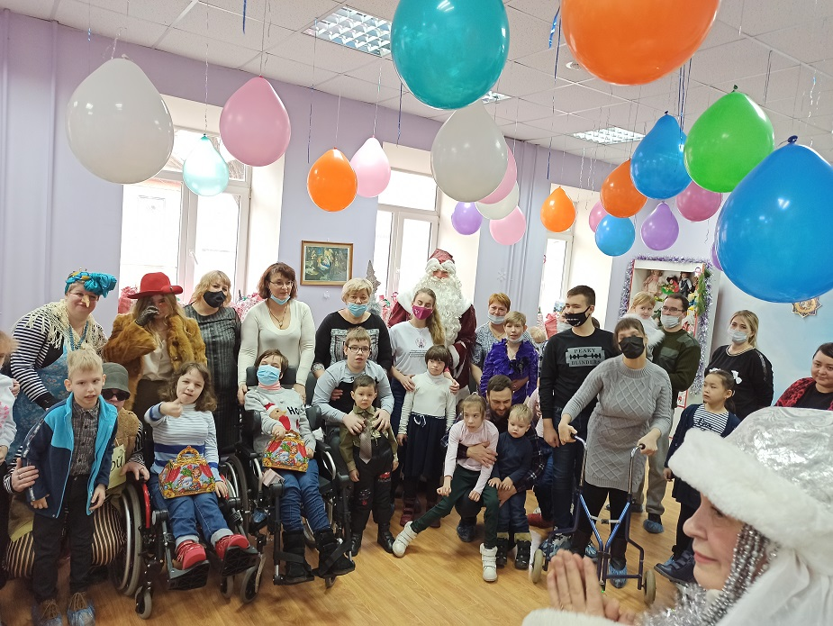 Душевные встречи клуб для общения людей с инвалидностью
