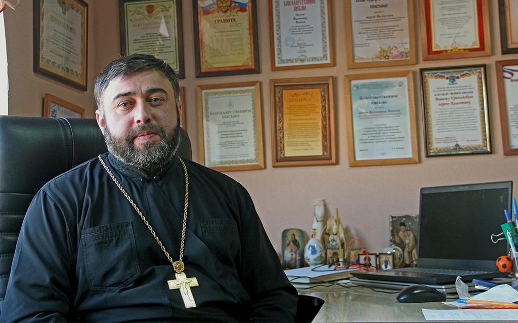 Иерей Валентин Вовчок: «Наша вера требует постоянства»
