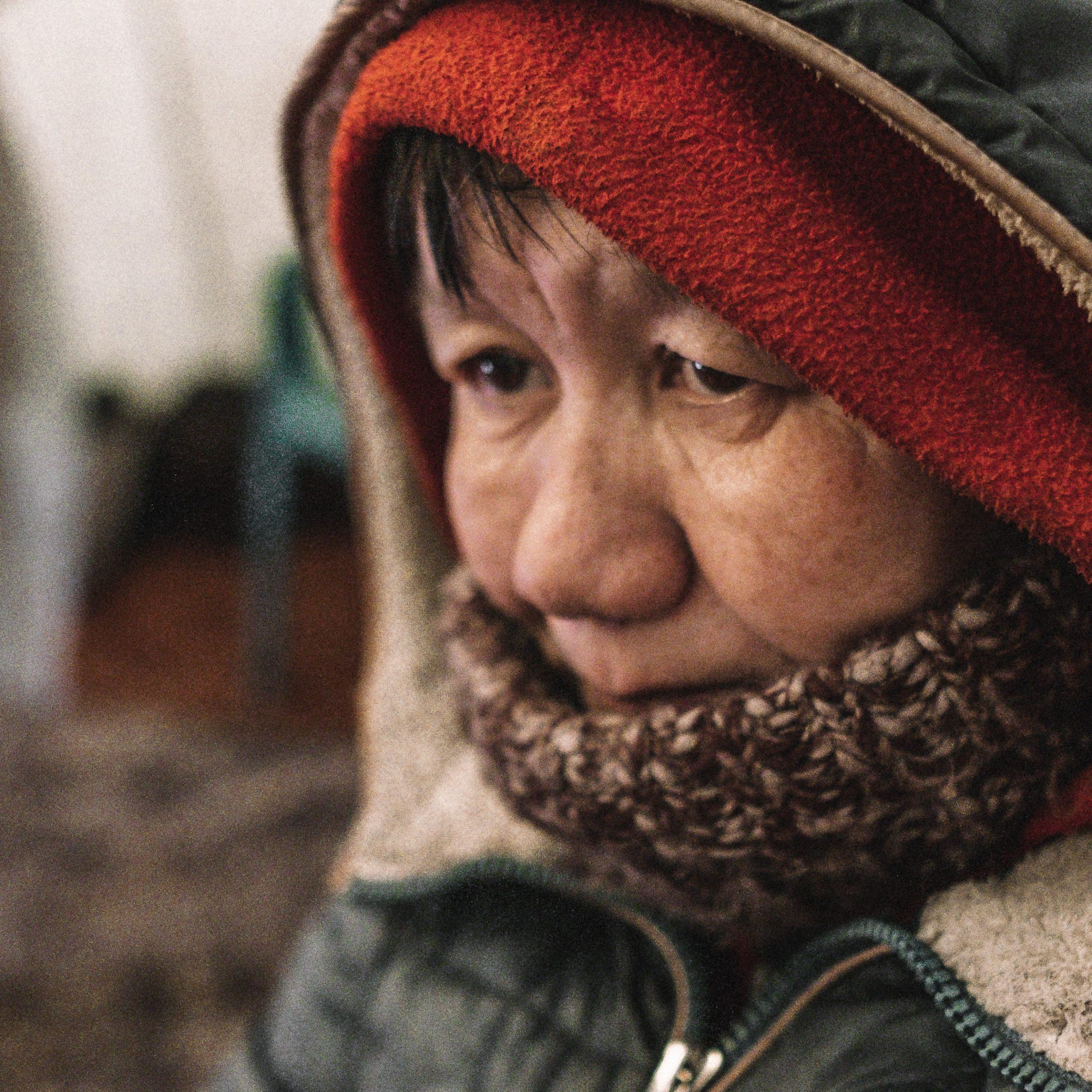 Пункт помощи бездомным людям
