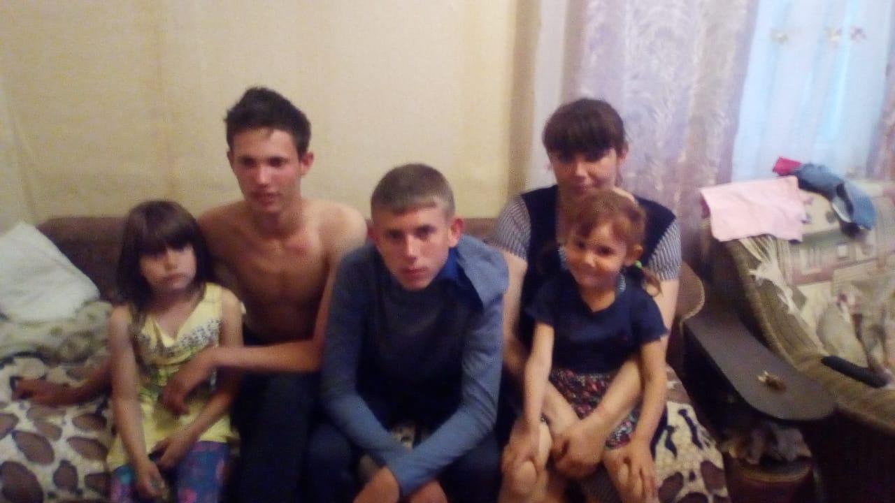 Помощь семье Сидоровых